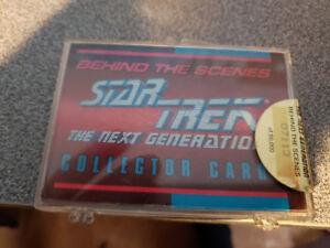 1993 star trek behind the scenes cards