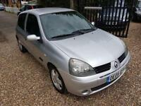 Renault Clio 1.2 16v Extreme 4, Cambelt,W/Pump Done Service History