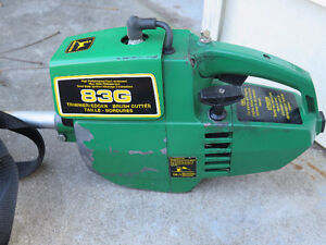 John Deere 83G Weed String Gas Trimmer Straight Shaft London Ontario image 4