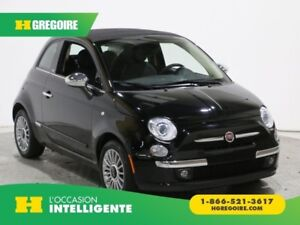 2015 Fiat 500c LOUNGE CONVERTIBLE CUIR MAGS BLUETOOTH
