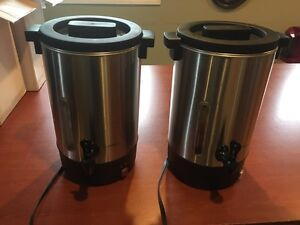 2x 100 Cup Coffee Urns London Ontario image 1