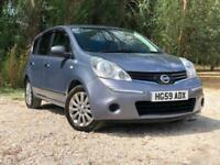 2009 NISSAN NOTE 1.6 VISIA AUTOMATIC PETROL 5 DOOR HATCHBACK