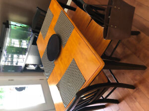 Brand New! Table, 4 Chairs and Bench Included!!