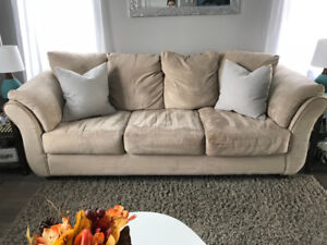 Microfibre couch!