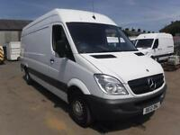 MERCEDES SPRINTER 313 CDI LWB, White, Manual, Diesel, 2012