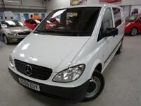Mercedes Vito 111 CDI CREW VAN + 4 SVS + JUNE 19 MOT + 6 SEATS