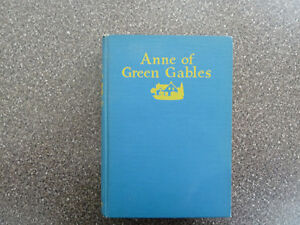 ANNE OF GREEN GABLES - first Canadian Ed.