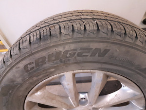 Tire swap or mount and balance tires