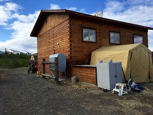Log home on 35 acres in Canyon Creek KM 1546.5 Alaska Highway Yukon image 3