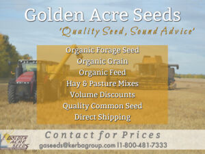 Attention Farmers & Ranchers - Golden Acre Seeds