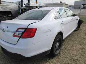 Parting out 2013 Ford Taurus ex cop car