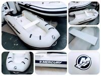 Quick Silver Mercury Dynamic 270 2.7m GRP Super Lightweight Rib Inflatable Tender Boat