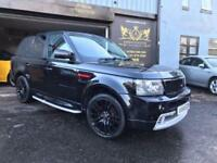 Land Rover Range Rover Sport 2.7TD V6 auto KAHN EDITION WITH RED QUILTED INTERIO