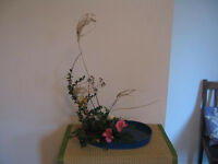Japanese flower arranging (Ikebana) lessons