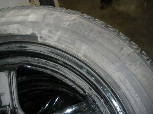 Michelin Xice Xi2  235 55 17 Winter Tires on steel rims