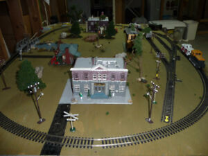 Train Layout HO Scale Complete