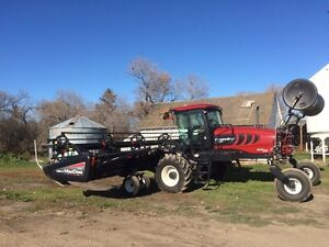 Macon M155 swather 35 ft D 60 (426 HRS)