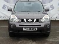 2008 NISSAN X-TRAIL 2.0 AVENTURA DCI DIESEL LARGE PANORAMIC ELECTRIC ROOF BLACK