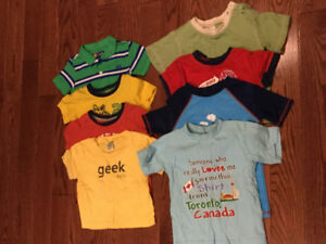 12-18M Graphic Tees - set of 8 - only $10!