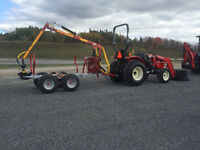 Branson 4x4 tractor and Kranman 4x4 trailer = 8WD for 469.00/M