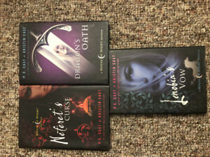 House Of Night book series novella's by PC Cast/Kristin Cast