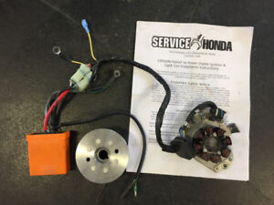 Service Honda cdi and high output coil