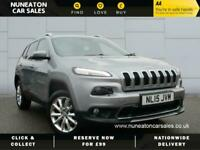 2015 Jeep Cherokee M-JET LIMITED Auto Estate Diesel Automatic