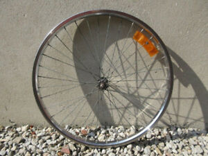 "26"" Front Wheel -- for Mountain Bike or Cruiser"