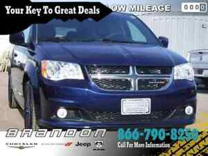 2017 Dodge Grand Caravan SXT Premium Plus - Leather Seats , Rear