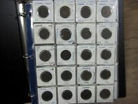 Giant collection of 131 Canadian Large & Small Cents 1800s-1900s