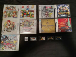 3DS / NDS / GBA Games