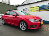 2014 Seat Leon FR Sport Coupe 1.8 TSI 180PS - Flash Red
