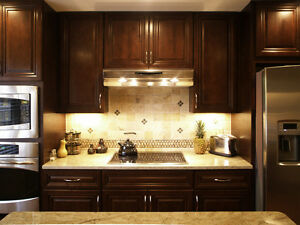 Kensington wood kitchen - Financing available - $58 a month