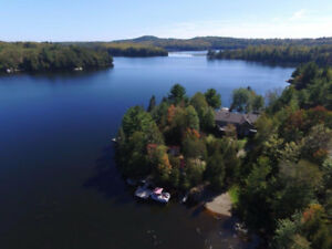 One of a Kind Four Season Cottage,  1 1/2 hours west of Sudbury