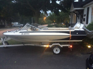 Price drop time wasters 17ft Glastron boat outboard motor 115bhp