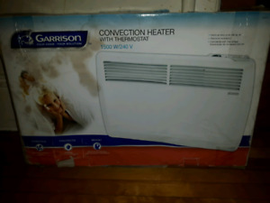 Brand new convection heater with thermostat