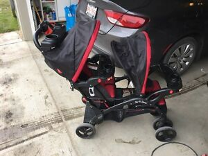 Baby Trend Eclipse Double, Sit n Stand stroller - $200