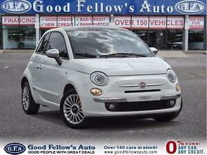2012 Fiat 500 LOUNGE, SUNROOF, LEATHER