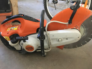 Stihl gas cut off saw