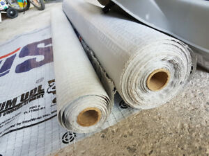 Inter-wrap udl25 Titanium roofing underlayment, near full roll