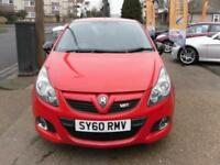 BAD CREDIT HISTORY CAR FINANCE 2010 60 VAUXHALL CORSA VXR 1.6T RACING EDITION