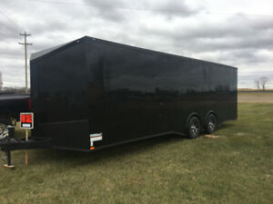 2018 SPARTAN BLACKOUT EDITION 24 FT ENCLOSED