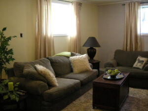 Large Bright Comfortable Suite available for short term rental