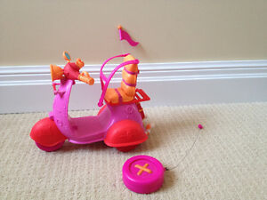 Lalaloopsy remote control scooter