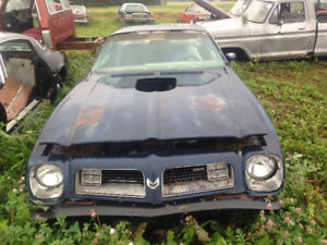 In need of 1974 75 trans am firebird parts for my project car
