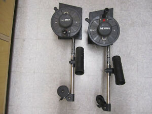 2 Scotty Down Riggers 150 each