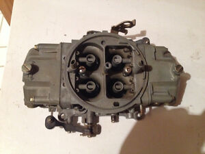 650 Holley double pumper carb in good shape!