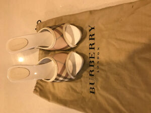 Women's Burberry shoes