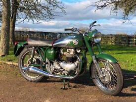 Norton Dominator 88 1956 500cc Classic British Motorcycle!