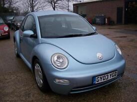 Volkswagen Beetle 1.9 TURBO DIESEL TDI